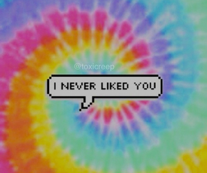 grunge, never, and speech bubble image