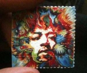 Jimi Hendrix, lsd, and drugs image