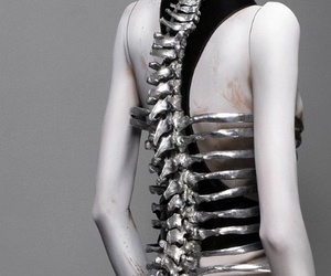 fashion, spine, and Alexander McQueen image