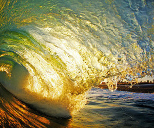 sea, wave, and photography image