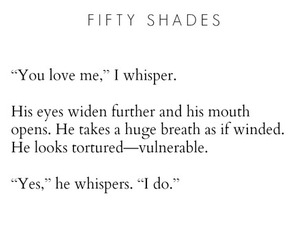 love, quote, and fifty shades of grey image