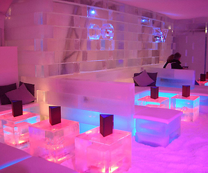cold, ice, and interior design image