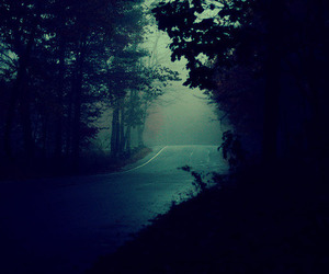 dark, road, and photography image