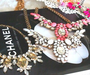 chanel, necklace, and fashion image