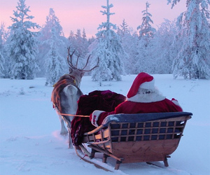 finland, santa claus, and lapland image