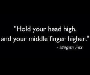 quote, bitch, and megan fox image