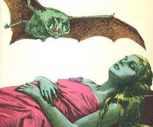 bat and woman image