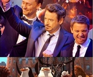 Avengers, iron man, and funny image