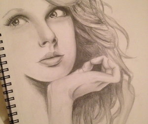 art, girly, and sketch image