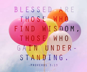 quote, blessed, and balloons image