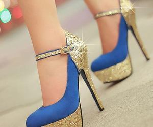 blue, shoes, and brillant♥ image