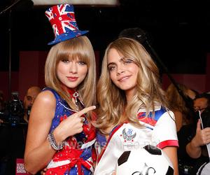 Taylor Swift, cara delevingne, and model image