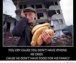 cry, sad, and iphone image