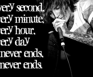 bmth, oliver sykes, and it never ends image