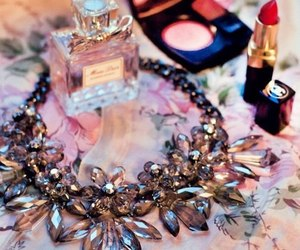 chanel, necklace, and shine image