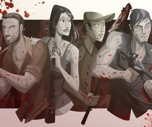 zombies and walking dead image