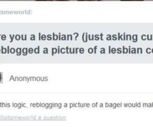 bagel and lesbian image