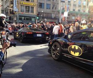 batman, sf, and cars image