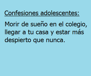 frases and confesiones adolescentes image
