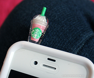 cell, lol, and starbucks image