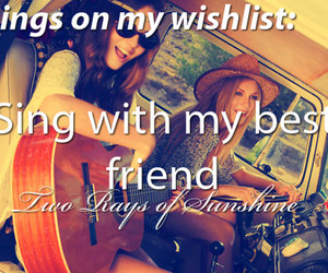 best friends, girl, and musician image