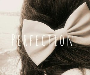 bow, perfection, and girl image