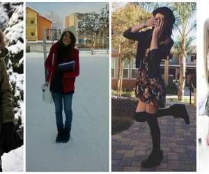 christmas, snow, and winter outfits image
