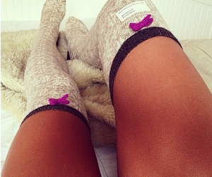 socks, legs, and pretty image