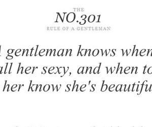 beautiful, gentleman, and rules image