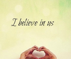 love, believe, and heart image