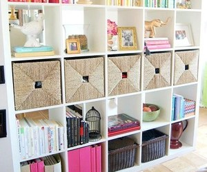 room, books, and decor image