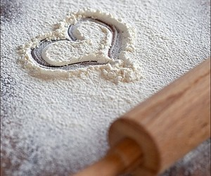 baking, love, and flour image