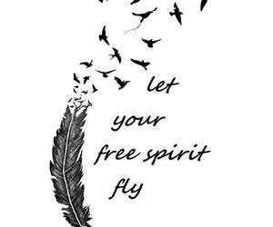 spirit, quotes, and birds image