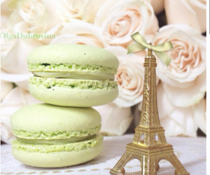 macaroons, flowers, and macarons image