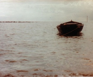 boat and ocean image