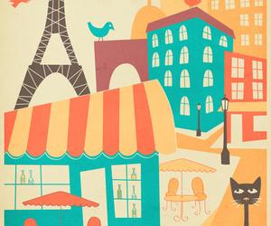 cat and paris image