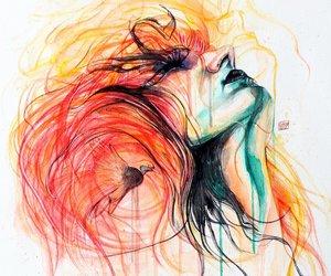 beautiful and hand drawings image