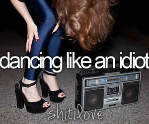 dancing, idiot, and dance image