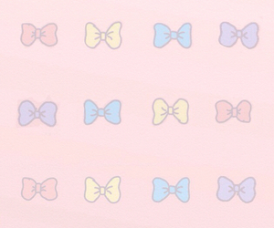bow, pastel, and tumblr image