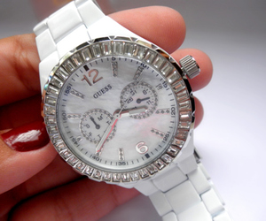 watch, guess, and white image