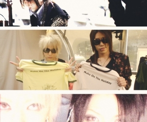 aoi, the gazette, and ruki image