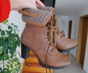 boots, tumblr, and shoes image