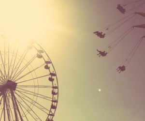 ferris wheel, fun, and paradise image