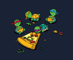 funny, pizza, and yum image
