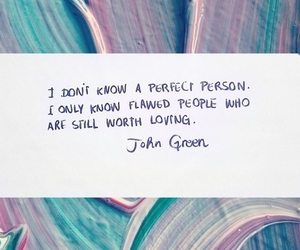 quote, john green, and love image