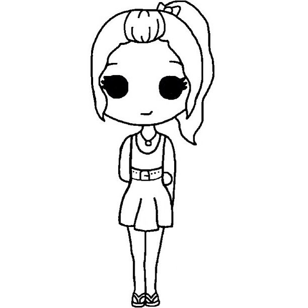 33 images about chibis templates on We Heart It | See more about ...