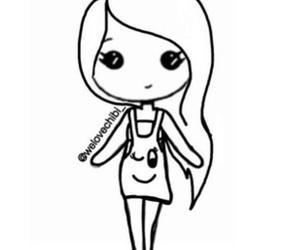 122 images about chibi girl on we heart it see more about chibi happy black and white and chibi template image maxwellsz