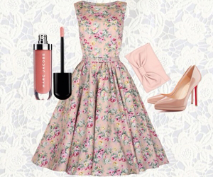 dress, inspiration, and fashion image
