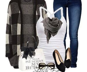 clothes and fall outfit image