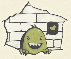 love and monster; cute; ogro image